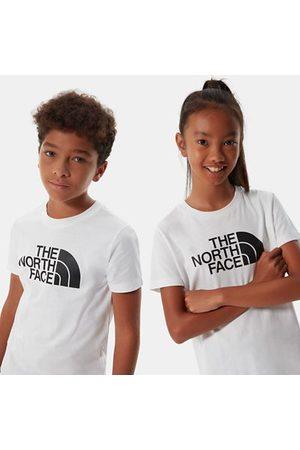 The North Face The North Face T-shirt A Maniche Corte Bambini Easy Tnf White / Tnf Black