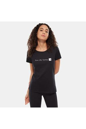 The North Face The North Face T-shirt Donna Nse Tnf Black/tnf White