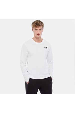 The North Face The North Face T-shirt A Maniche Lunghe Uomo Easy Tnf White