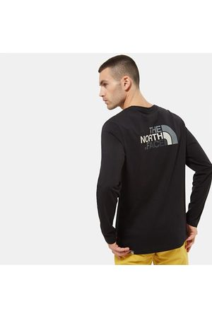 The North Face The North Face T-shirt A Maniche Lunghe Uomo Easy Tnf Black/zinc Grey