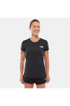 The North Face The North Face T-shirt Donna Reaxion Ampere Tnf Black Heather