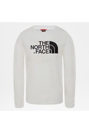 The North Face The North Face T-shirt Bambini Easy A Maniche Lunghe Tnf White