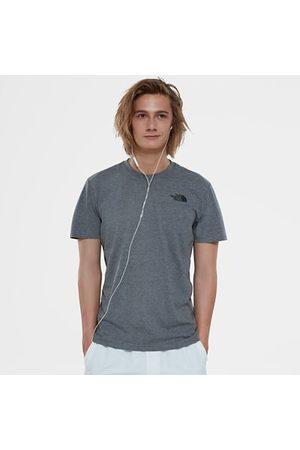 The North Face The North Face T-shirt Uomo Redbox Tnf Medium Grey Heather