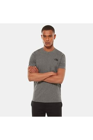 The North Face The North Face T-shirt Uomo Simple Dome Tnf Medium Grey Heather