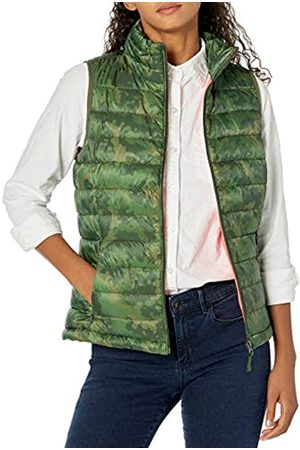 Amazon Lightweight Water-Resistant Packable Puffer Vest Giù Gilet, Camo , S
