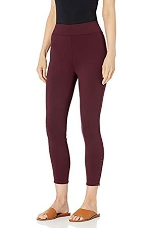 Daily Ritual Ponte Legging with Ankle Side Zips Leggings-Pants, 890v6, US XXL