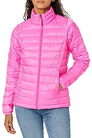 Amazon Giacca Leggera e Impermeabile Ripiegabile. Athletic-Insulated-Jackets, Fluo, US XXL