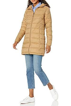 Amazon Leggero, Impermeabile e richiudibile. Down-Alternative-Outerwear-Coats, Cammello, US L
