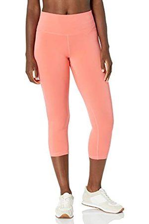 Amazon Performance Capri Legging Leggings-Pants, Bright Coral, US M