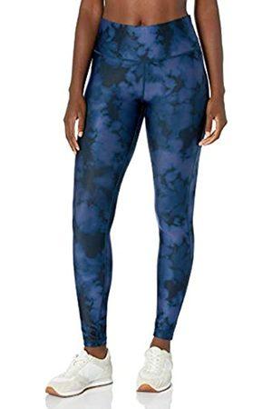 Amazon Performance Mid-Rise Full-Length Active Legging Leggings-Pants, Blue Inky Dye, US M