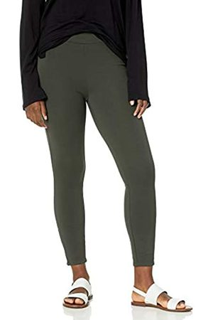 Daily Ritual Ponte Legging with Ankle Side Zips Leggings-Pants, Jacky's, US XXL