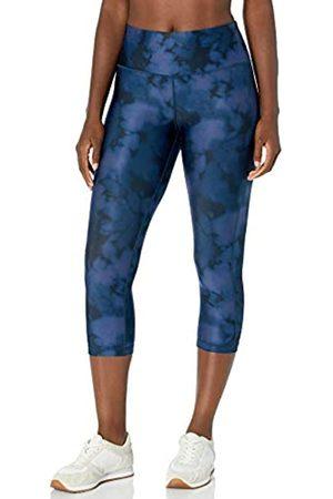 Amazon Performance Capri Legging Leggings-Pants, Blue Inky Dye, US S