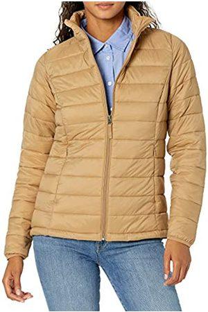 Amazon Giacca Leggera e Impermeabile Ripiegabile. Athletic-Insulated-Jackets, Cammello, US S