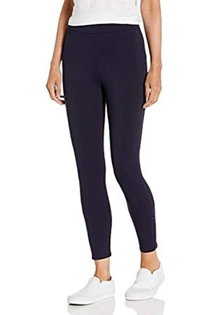 Daily Ritual Ponte Legging with Ankle Side Zips Leggings-Pants, Dainty, US S