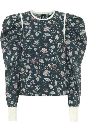 Isabel Marant Blusa Celwood a stampa in cotone