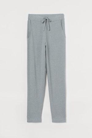 H&M Joggers in maglia fine - Turchese