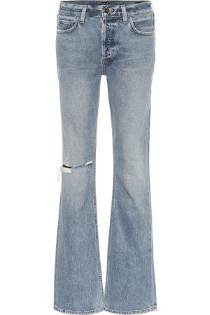 Goldsign Jeans flared a vita alta