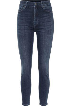 7 for all Mankind Jeans skinny Aubrey a vita alta