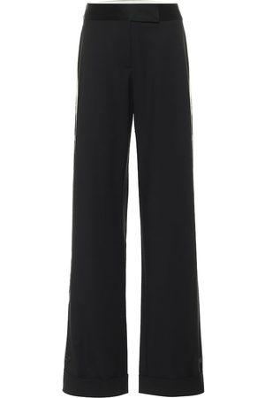 MONSE Pantaloni a gamba larga in lana stretch