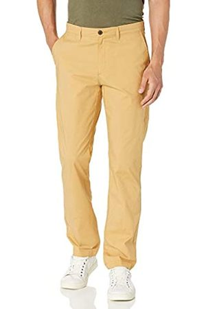 Amazon Uomo Chinos - Straight-Fit Lightweight Stretch Pant Pants, Wheat, 38W x 28L