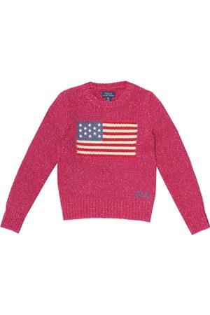 Ralph Lauren Pullover in misto lana lamé