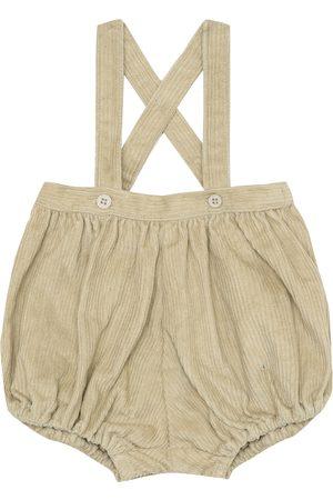 Caramel Baby - Salopette Dunlin in velluto di cotone
