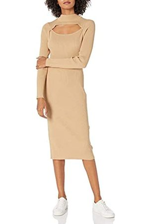 The Drop Chantal, Vestito da Donna, Aderente a Costine, Segue le Linee del Corpo, Cagliata e Siero di Latte, XS