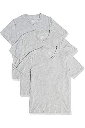 Buttoned Down Uomo Magliette intime - Marchio Amazon - 3-Pack Supima Cotton Stretch V-Neck Undershirts, Delana Venna, US