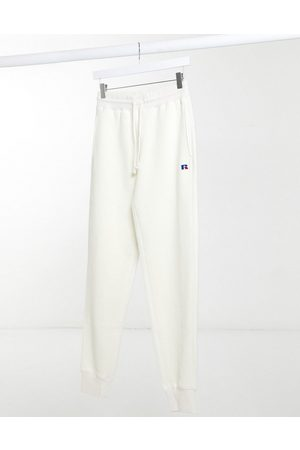 Russell Athletic Joggers in pile color crema