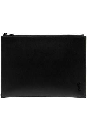 Saint Laurent Uomo Tablet - Custodia per tablet con monogramma