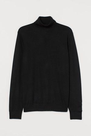 H&M Pullover collo alto misto lana