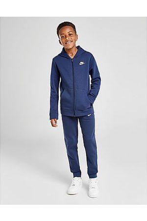 Nike Sportswear Fleece Tuta Junior, White