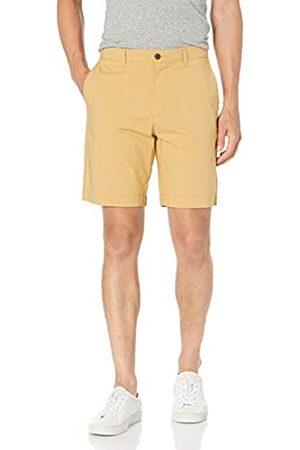 "Amazon Slim-Fit Lightweight Stretch 9"" Short Shorts, Grano, 36"