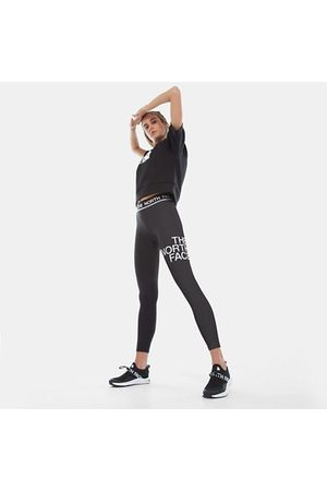 The North Face The North Face Leggings Donna Vita Media Flex Tnf Black/tnf White