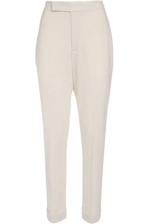 Ralph Lauren Pantaloni In Crepe Di Lana