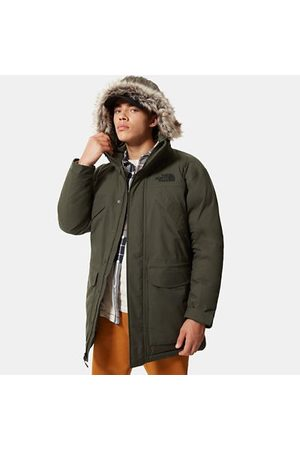 The North Face The North Face Parka In Piumino Uomo New Peak New Taupe Green