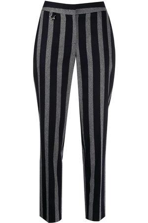LORENA ANTONIAZZI Pantaloni a righe - Di colore
