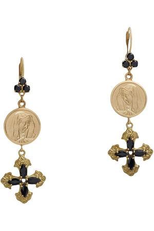 Dolce & Gabbana Orecchini in 18kt con diamanti e zaffiri