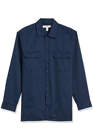 Amazon Long-Sleeve Stain And Wrinkle-Resistant Work Shirt Camicia,