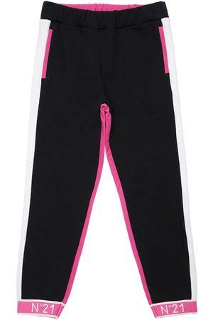 Nº21 Pantaloni In Felpa Di Cotone