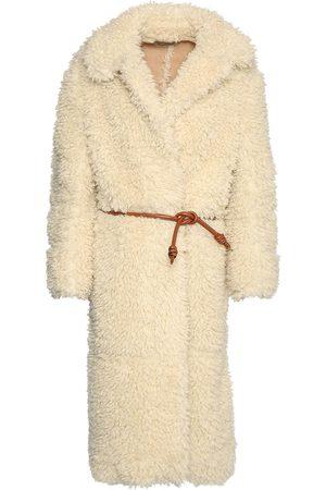 Stella McCartney Cappotto In Eco Shearling