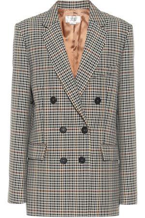 Victoria Victoria Beckham Blazer a quadri in misto lana