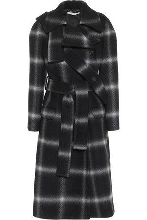 Stella McCartney Cappotto a quadri in lana
