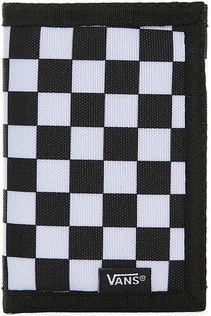 Vans Portafoglio Slipped (black-white Check) Uomo