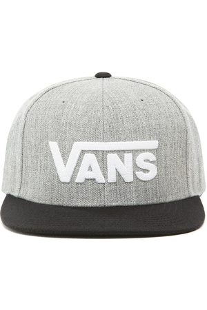 Vans Cappellino Da Baseball Drop V (heather Grey-black) Uomo