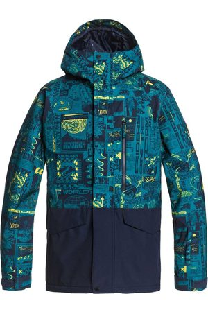 Quiksilver Uomo Giacche - GIACCA MISSION PRINTED BLOCK