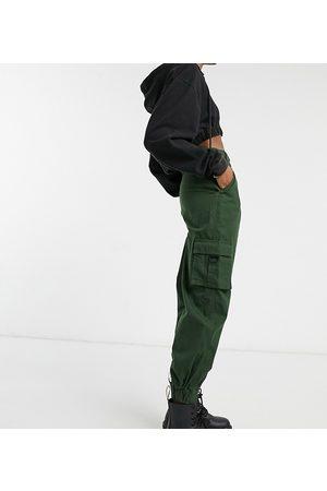 COLLUSION Pantaloni cargo kaki