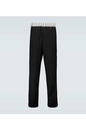 WALES BONNER Pantaloni in lana