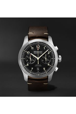 Bremont Uomo Orologi - ALT1-C Griffon Automatic Chronograph 43mm Stainless Steel and Leather Watch