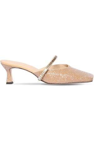 """Wandler Mules """"isa"""" In Misto Cotone Glitter 55mm"""